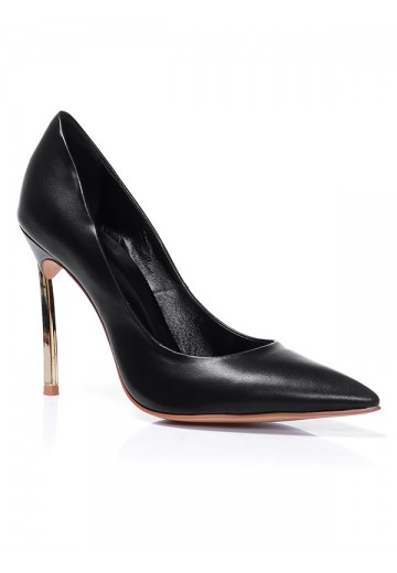 Black Heel Office Shoes S5MA0383LF