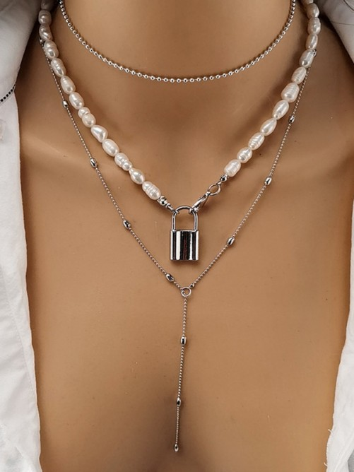 Occident Vintage Alloy with Rhinestone Hot Sale Necklaces