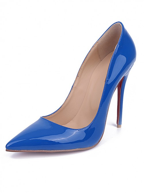 Royal Blue Heel Party Shoes S5MA0415LF