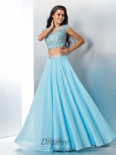 4db264c7d398 Two Piece Dresses UK, 2 Piece Prom Gowns Cheap - DreamyDress