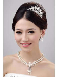 Wedding Headpieces Necklaces Earrings Set ZDRESS3998