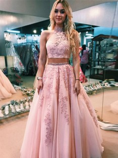 b8760f58ba1c Two Piece Dresses UK, 2 Piece Prom Gowns Cheap - DreamyDress