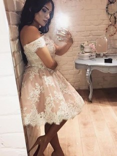 8cdec0c23e1 Cheap Short Prom Dresses UK 2019 - DreamyDress