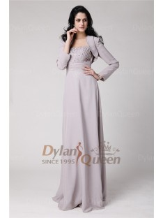 Glamorous Long Sleeves Chiffon Jacket/Wedding Wrap
