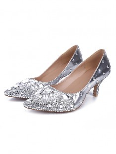 Cone Heel Wedding Shoes S5MA0430LF