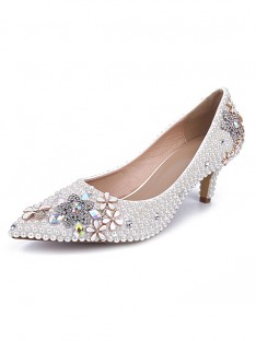 Cone Heel Wedding Shoes S5MA0432LF