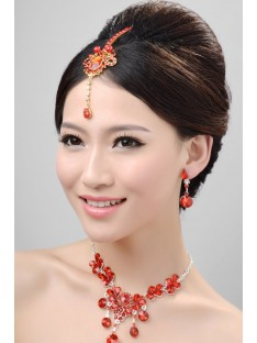Wedding Headpieces Necklaces Earrings Set ZDRESS3999