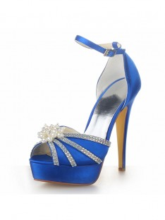 Heel Platform Wedding Shoes SW0201331I