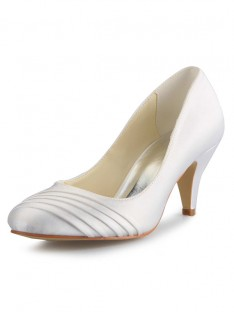 Cone Heel Wedding Shoes SW059494151I