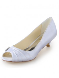 Kitten Heel Wedding Shoes SW1011161I