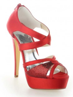 Platform Cone Heel Shoes SW115201271I