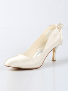 Spool Heel Wedding Shoes SW115A31B451I